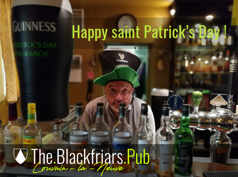 Blackfriars : Saint Patrick 2021